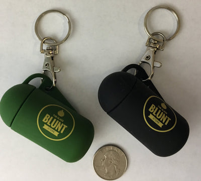 On-The-Go Mini Keychain Grinder and Smell Proof Container