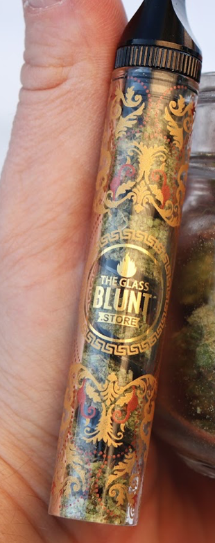 "Twisted Glass Blunt ""Zeus Designer Editions"" Black Blunt (Full Size)"