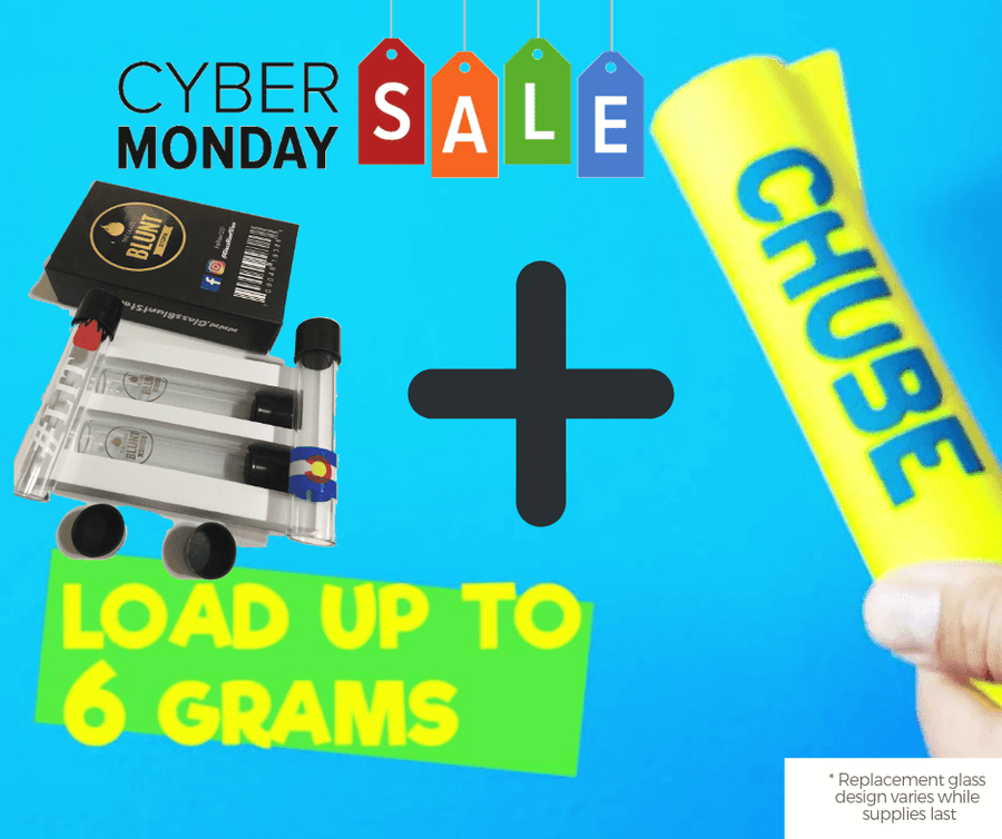 Cyber Monday Combo: Full Size Chube Grinder + Replacement Glass