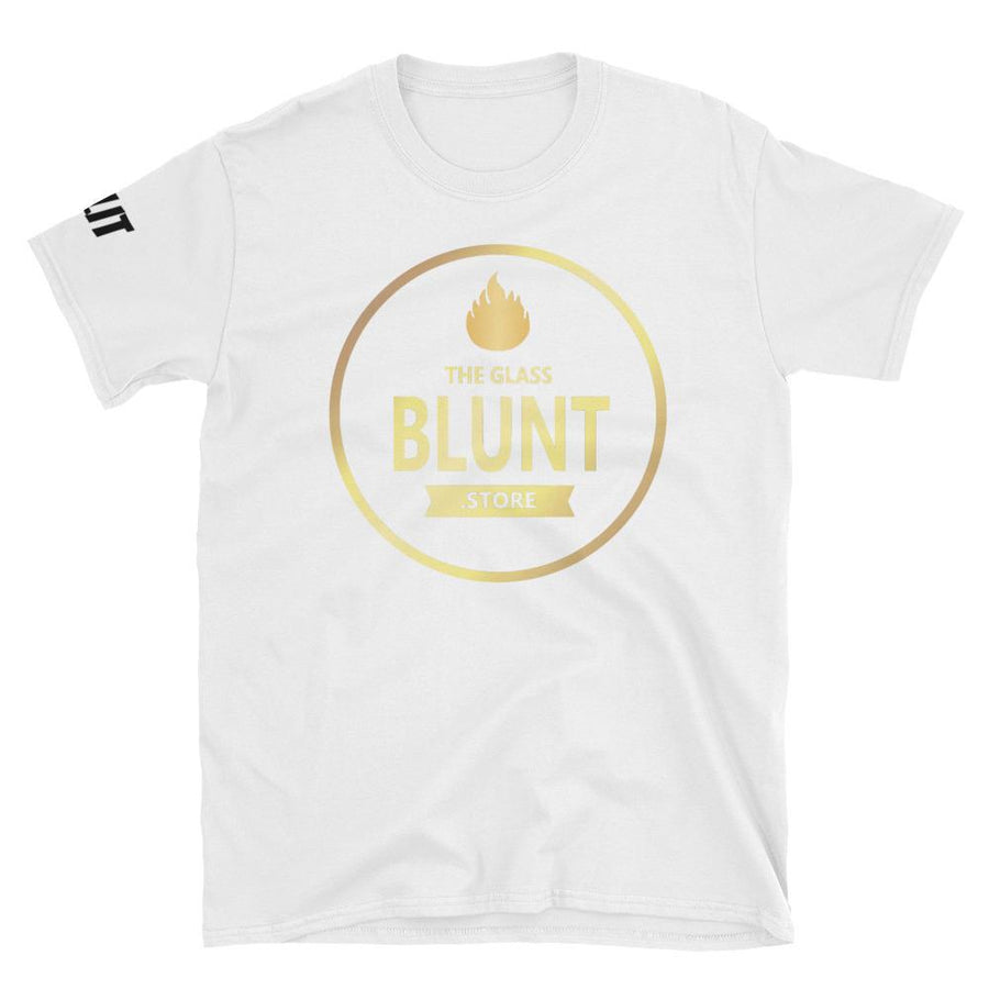 """GBS"" White Short-Sleeve Unisex T-Shirt"
