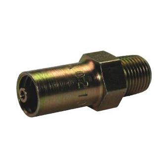 "1/8"" Hose Tail Swage Short (ex GST)"