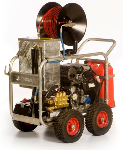 5,000 PSI Cobra King Honda Drain Cleaner Trailer Jetter