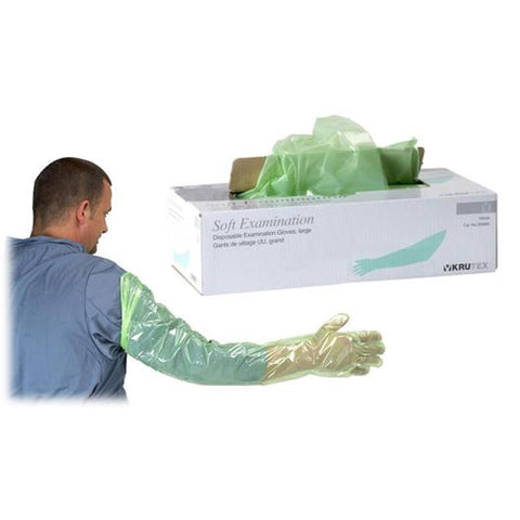 Nitrile Gloves – Orange