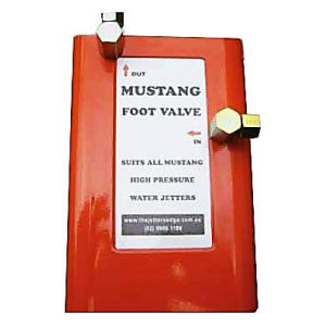 Mustang Foot Valve Patching Hose