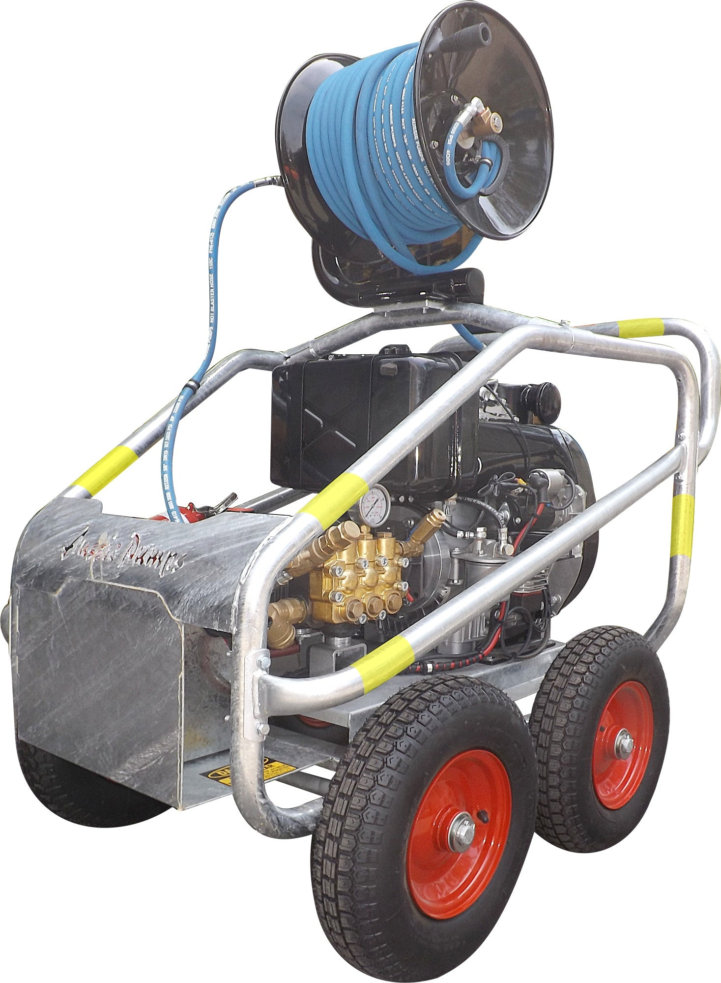 3,000 - 5,000 PSI Mine Boss Scud Diesel Pressure Washer