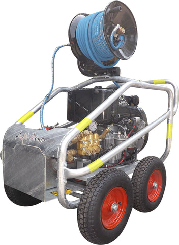 3,000 – 4,000 PSI Mobile Mine Boss Cube Hatz and Yanmar Diesel Pressure Washer