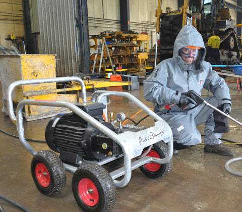 5,000 PSI Hurricane Hydro-Blaster Electric Pressure Washer