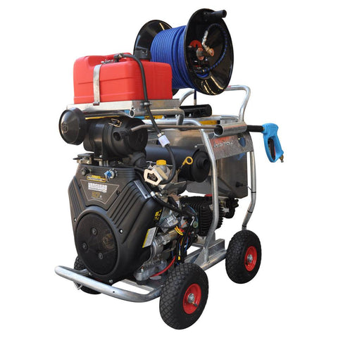 5,000 PSI King Cobra Vanguard Drain Cleaner Package