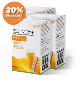 Recovery+ 10 Count Orange 3 Boxes