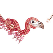 Let's Flamingle Statement Choker