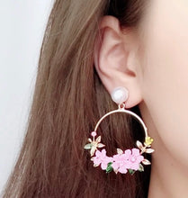 Pink Of Me Earrings