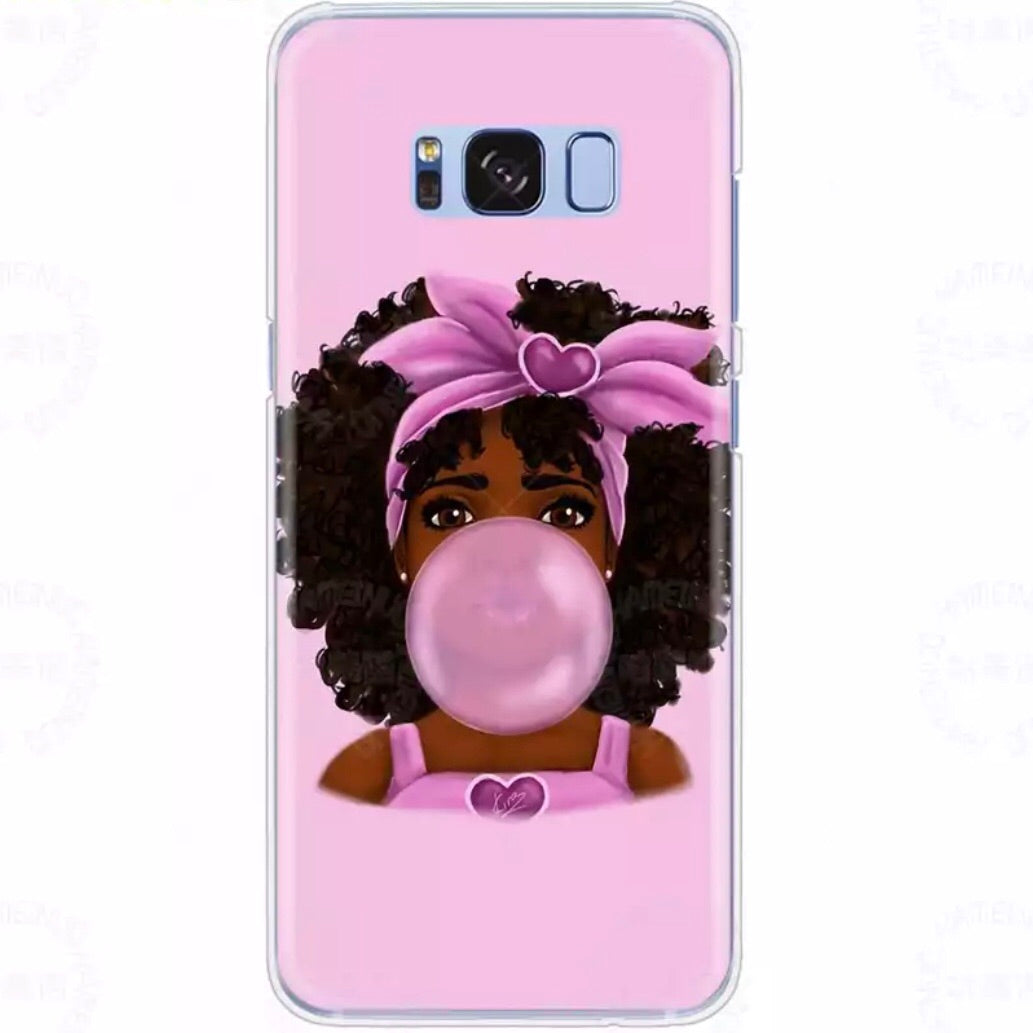 Melanin Poppin' Phone Case