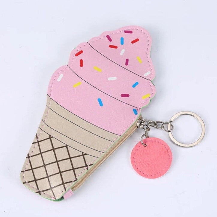 I Scream For Ice Cream Coin Pouch