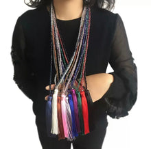 Muy Caliente Tassel Necklace
