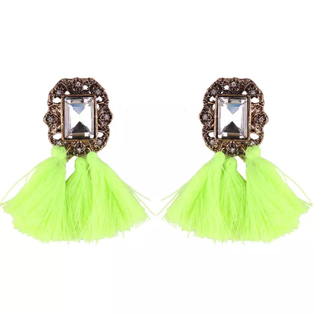 Lime A Rita Earrings