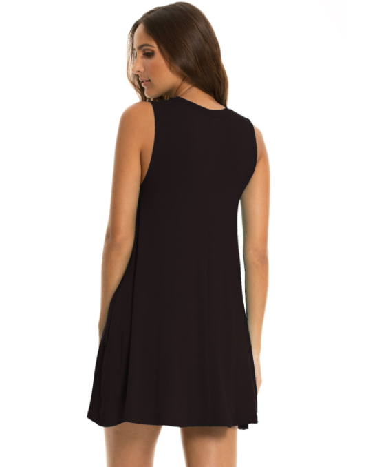 Core Comfort Sleeveless Tunic