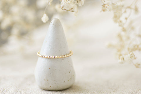 Ari ring in gold by Ivy Design Jewellery