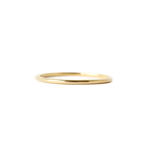 14k Fine Gold Ring - 1mm