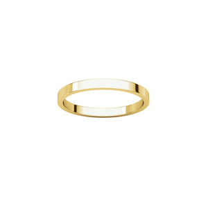 2mm Gold Band by Ivy Design Jewellery