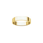 4mm flat ring band by Ivy Design Jewellery