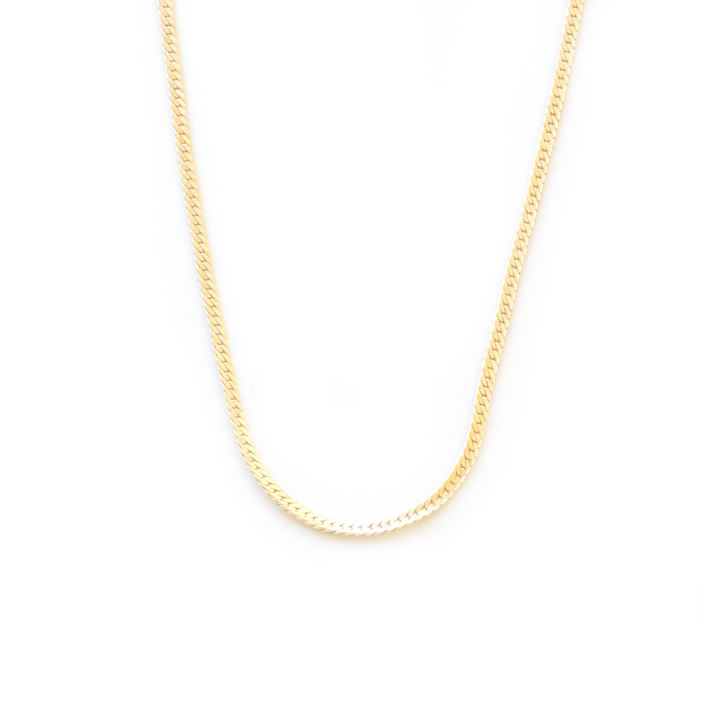 14k Gold Herringbone
