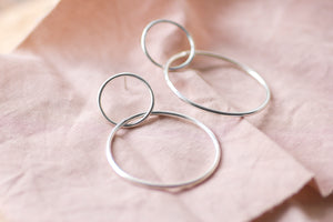 Double Hoops - Small