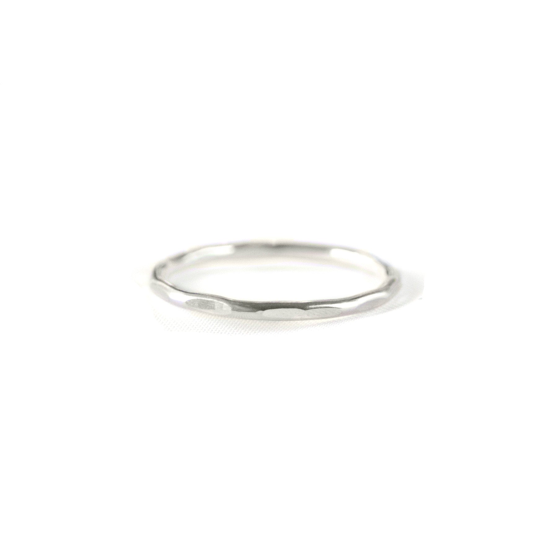 Fine Hammered Ring