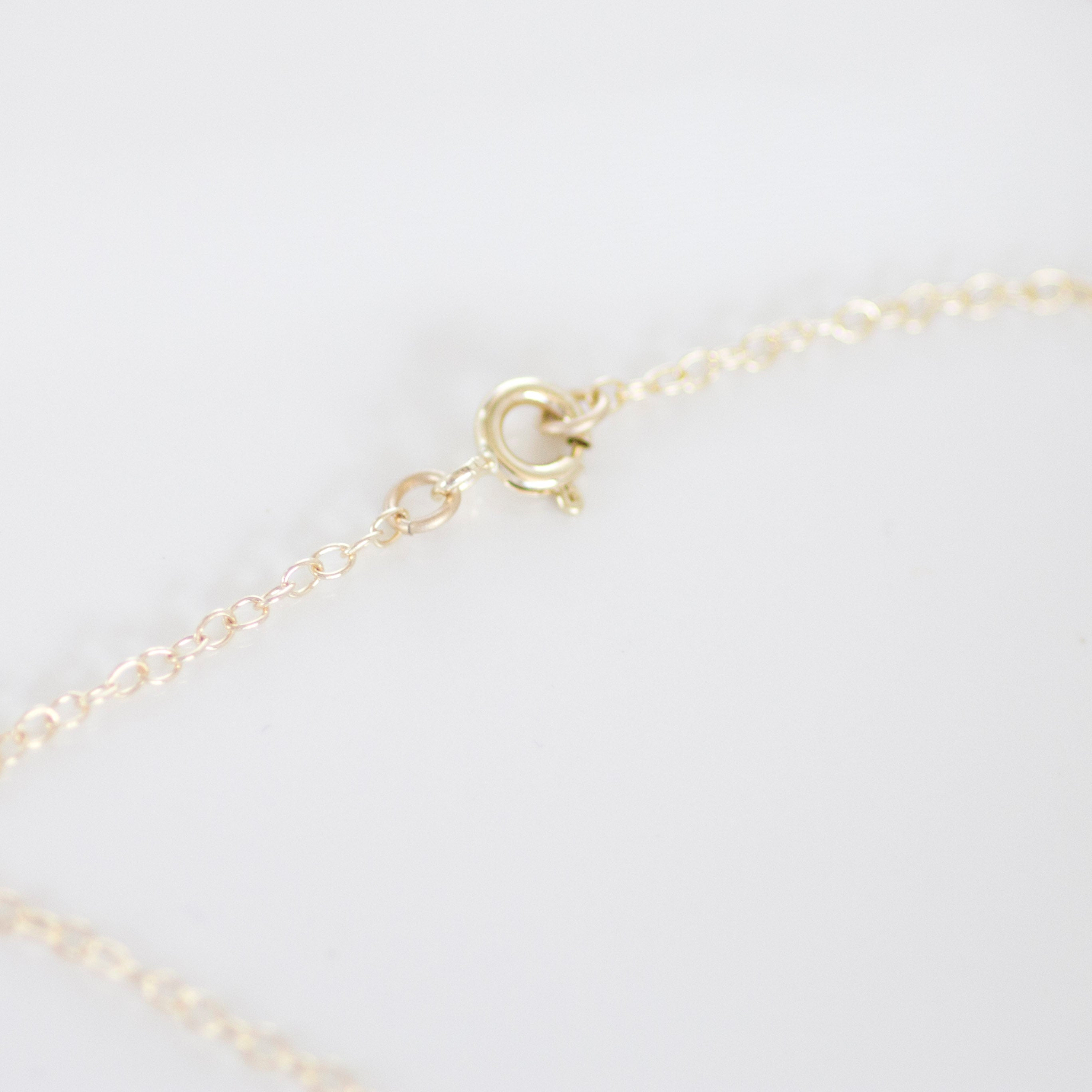 Salt and Pepper Diamond Necklace | 9ct & 14ct