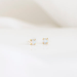 Australian Opal Stud Earrings | 14ct