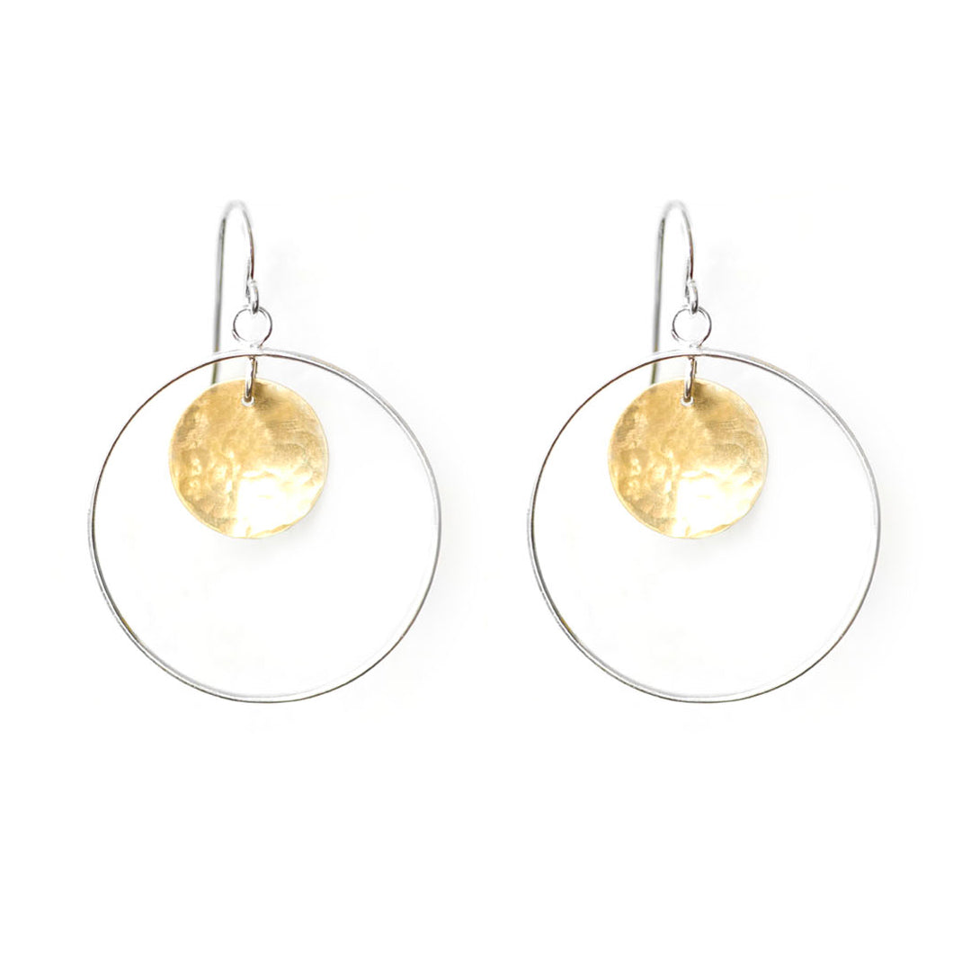 Statement Hoop earrings by Ivy Design Jewellery