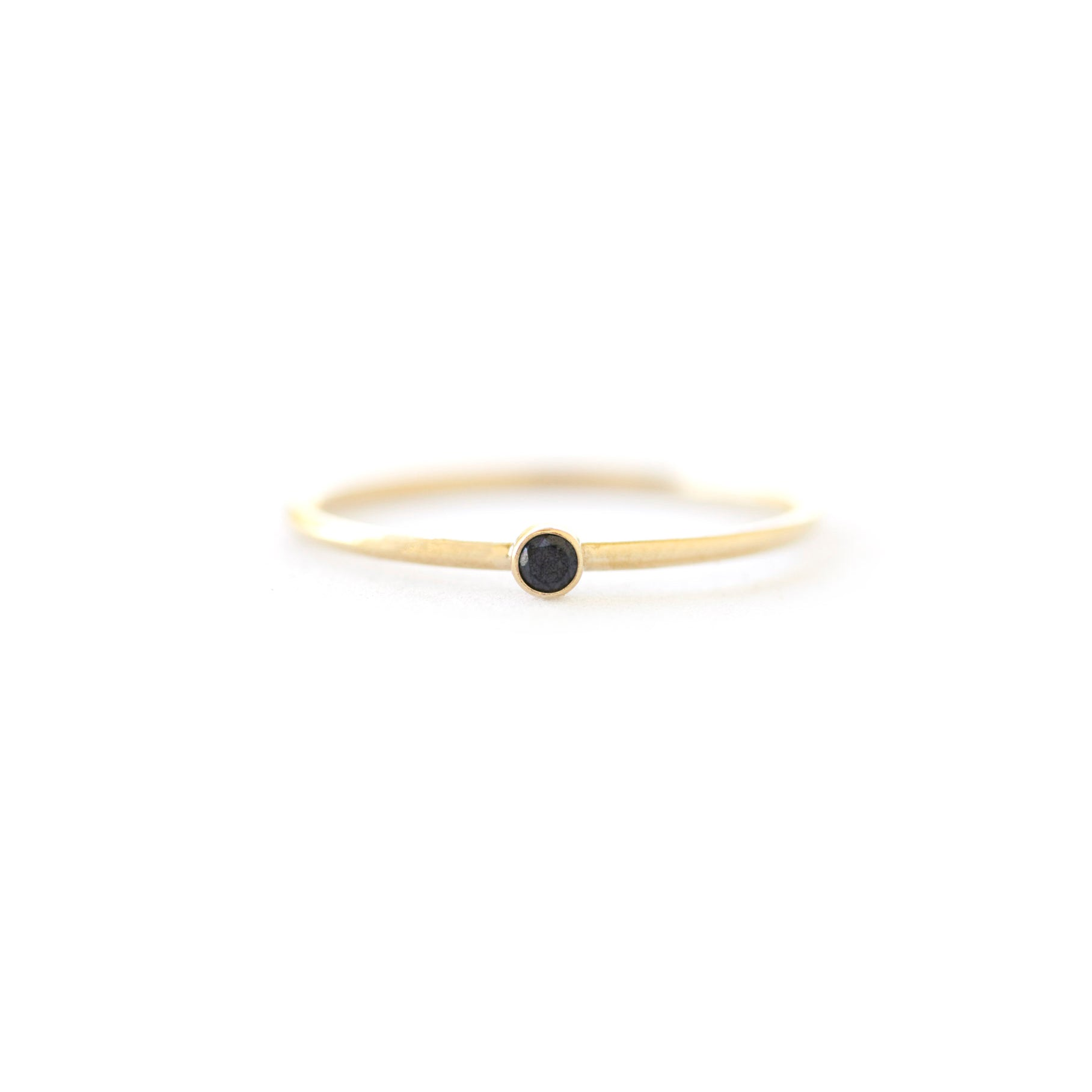 Cubic Zirconia Ring - Black