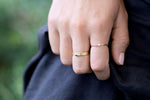 Stacking ring set