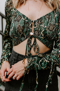 WILD SIDE CROP TOP