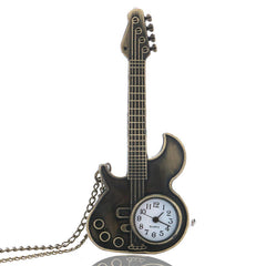 Antique Guitar Shape Quartz Watch