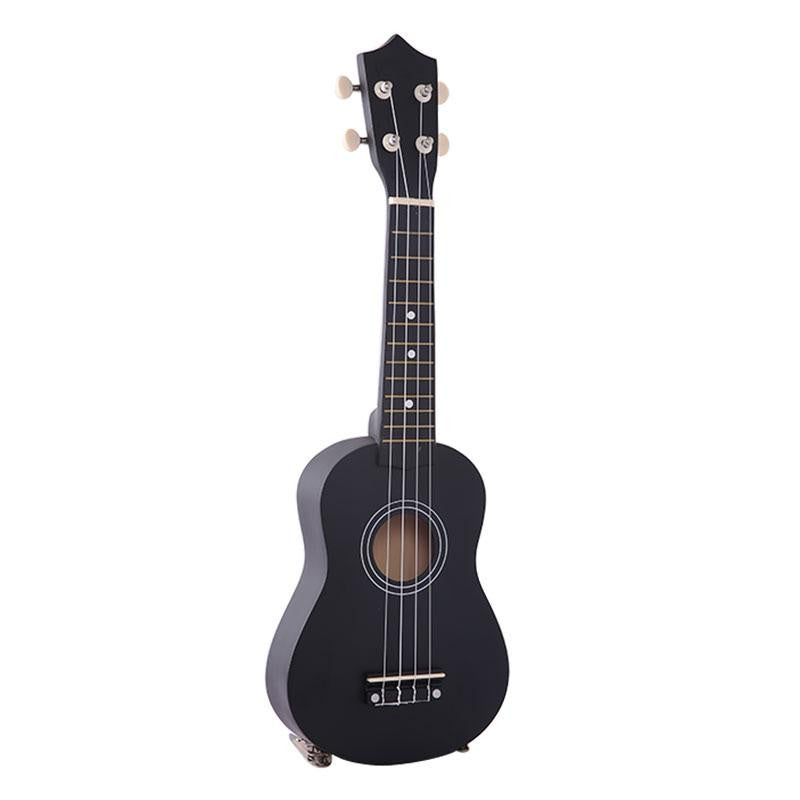 "21"" Mini Professional Black Vintage Acoustic Guitar"