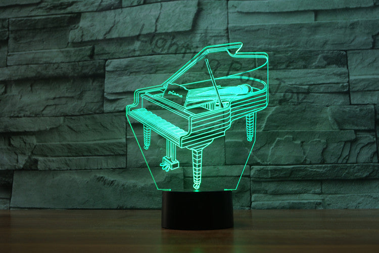 Grand Piano LED Night Lamp