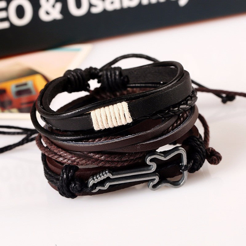 lovingthemusicstore bracelets image products product woven com bracelet leather casual