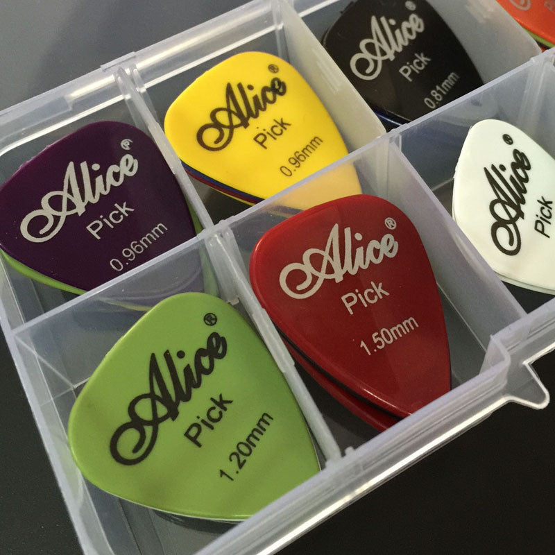 40 Guitar Picks Case
