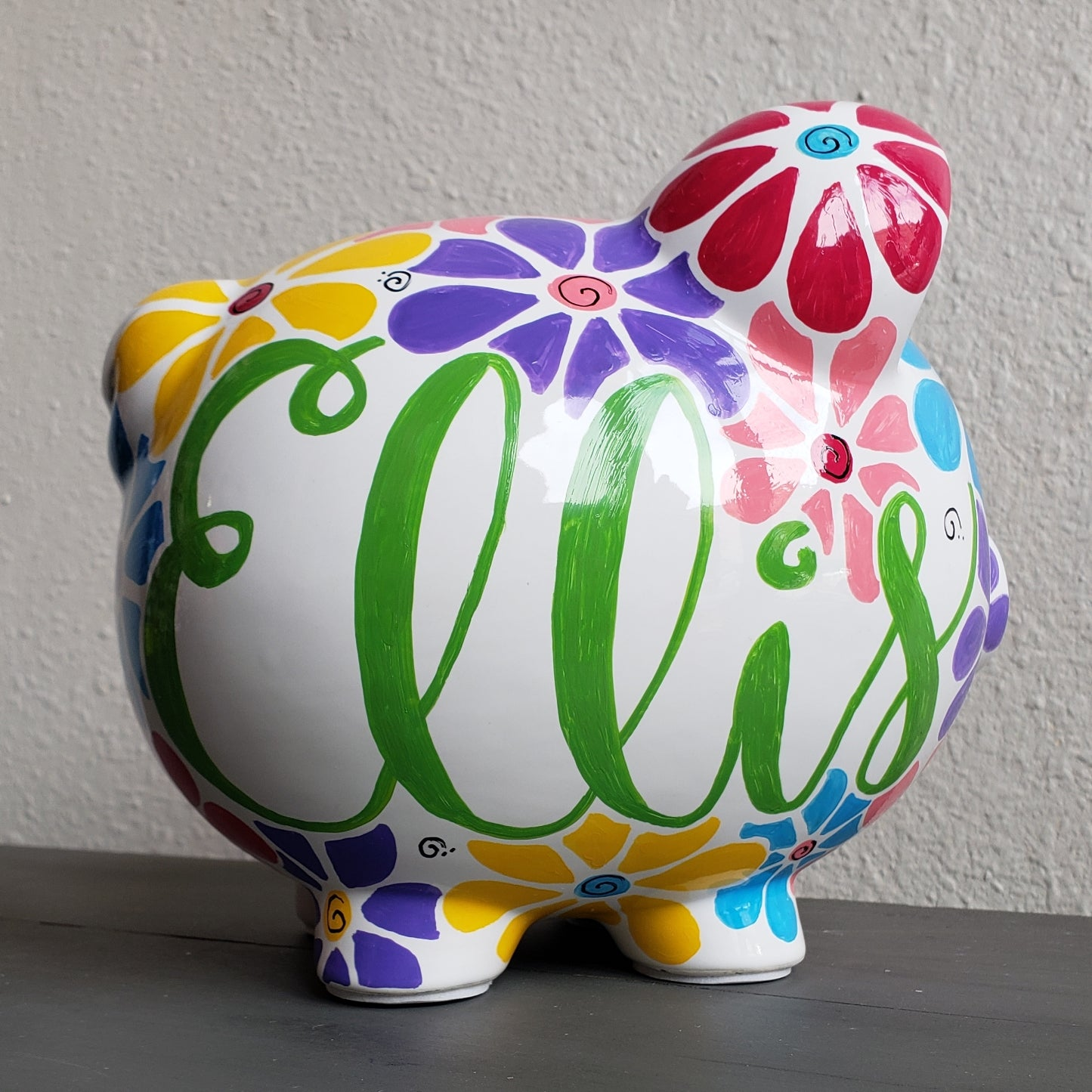 Flower Power Piggy