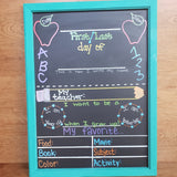 First/Last Day of School Chalkboard