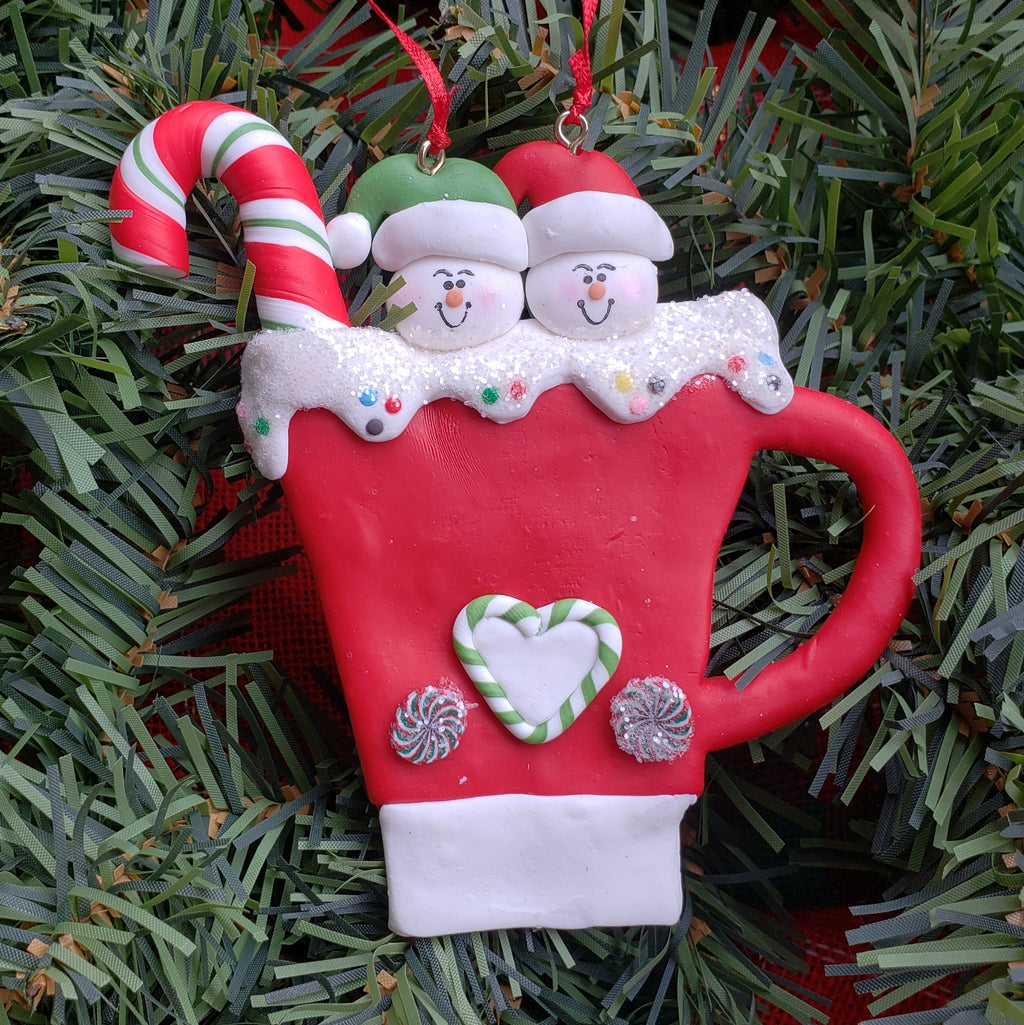 Mug Couple Ornament