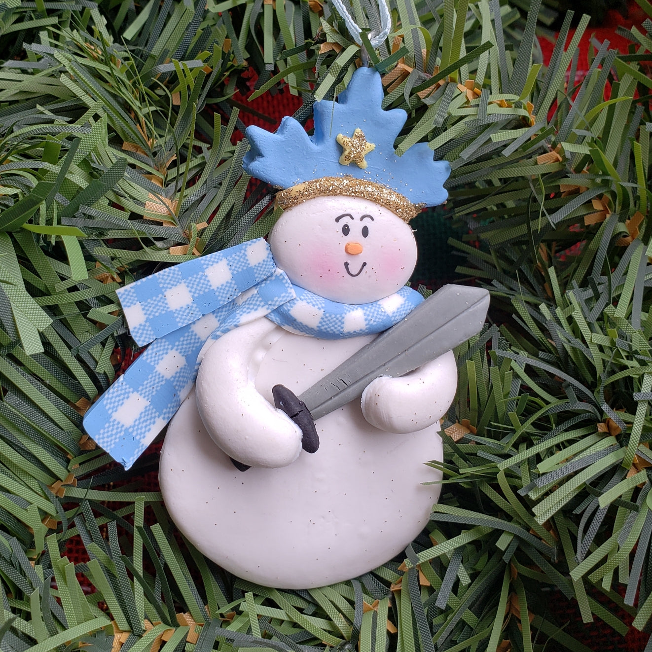 Snow Prince(cess) Ornament