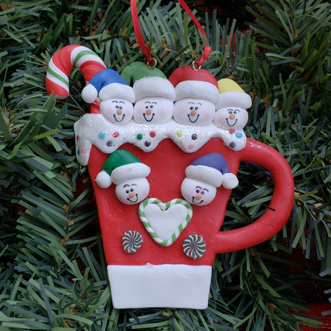 Mug Family Ornament