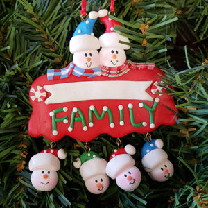 """Family"" sign Family Ornament"