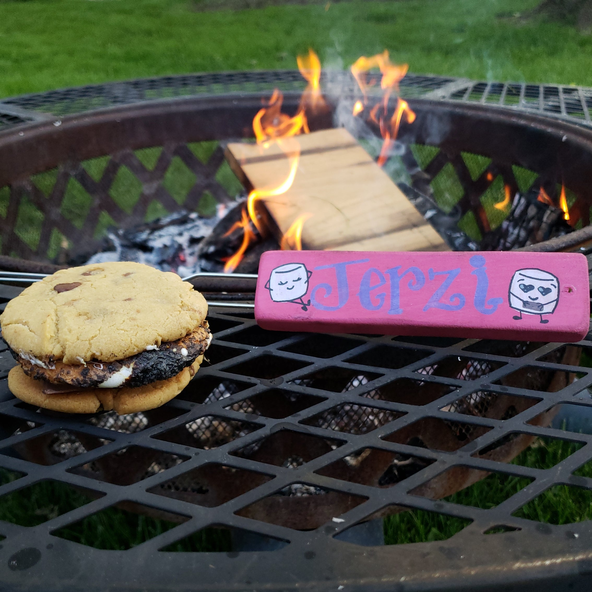 Personalized S'more Stick