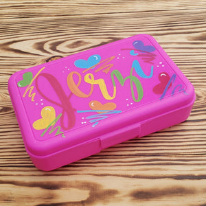 Plastic Pencil Box