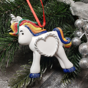 Sparkle Unicorn Ornament