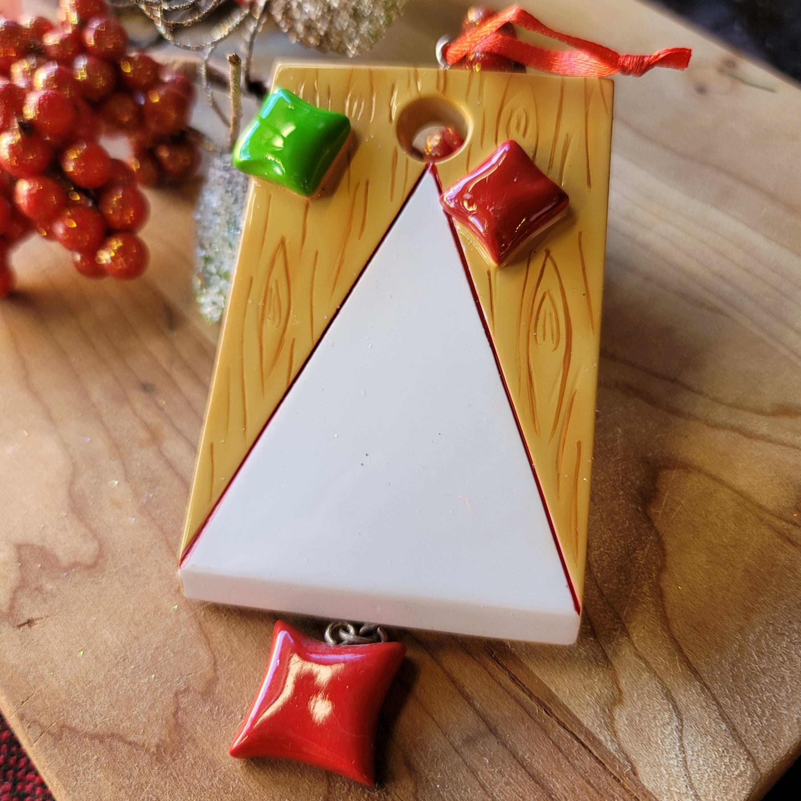 Cornhole Ornament