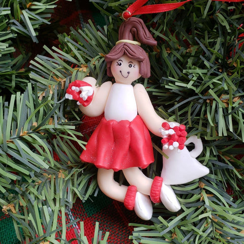 Cheerleader Ornament