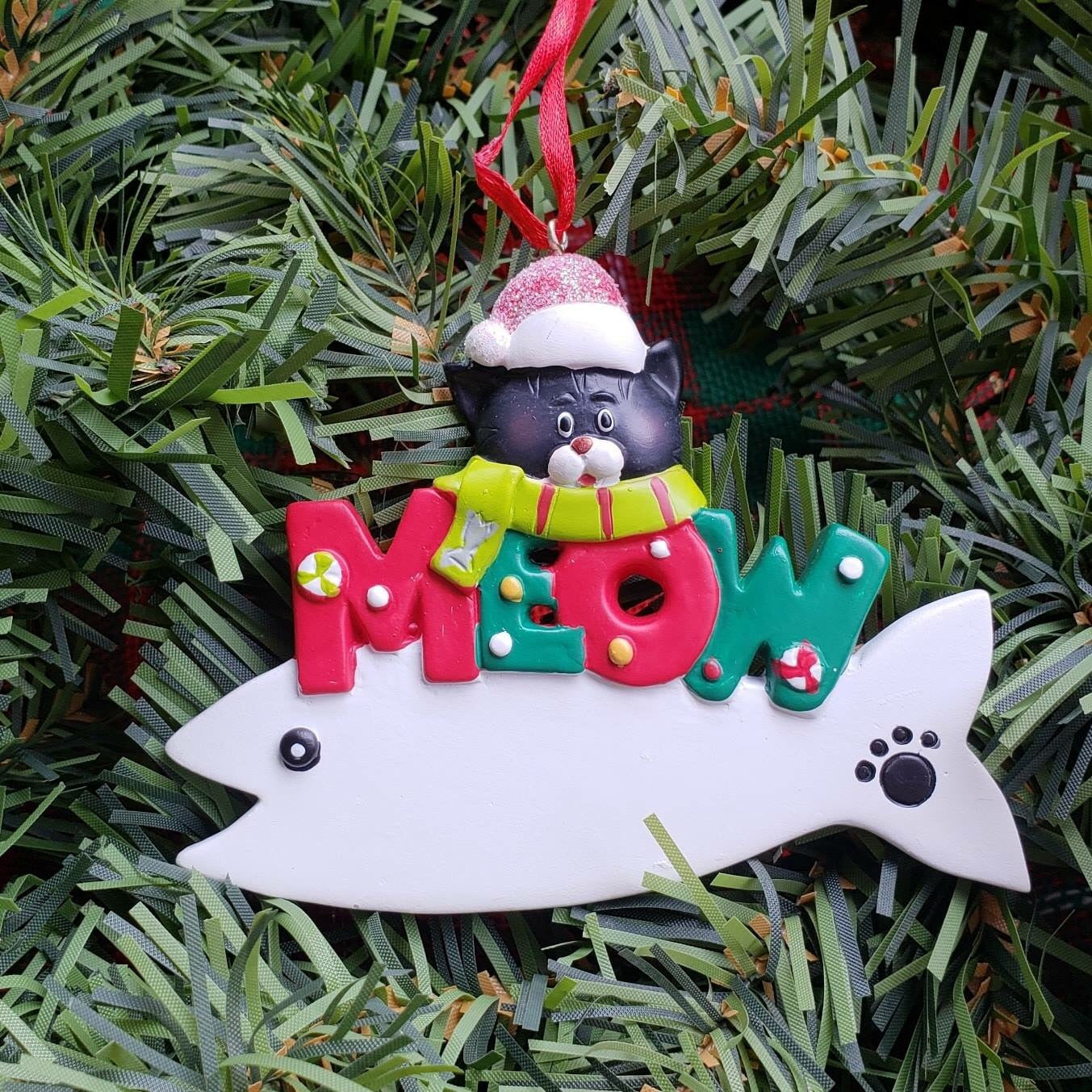 Cat Meow Ornament